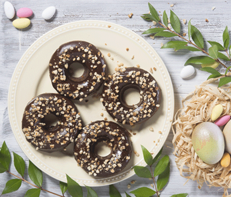 Donuts Vegan de Chocolate
